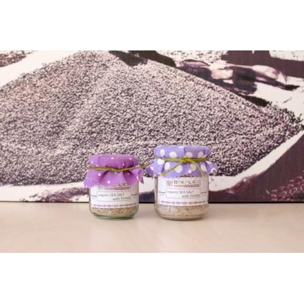 Bakaliko Organic 150 g Sea Salt with Rosemary