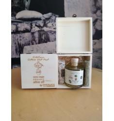 Cretan Olive Oil Pot Gift Box limited edition for Bakaliko