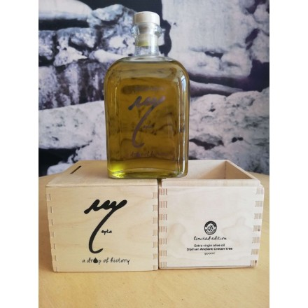 Eptastiktos 500 ml Extra Virgin Olive Oil from an Ancient cretan olive tree, limited edition gift box