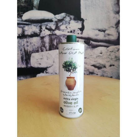 Cretan Olive Oil Pot 500 ml Extra Virgin Olive Oil