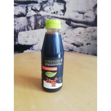 Kalamata Papadimitriou Classic Balsamic cream with sweeter from Stevia 250 ml