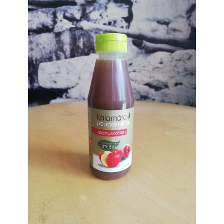 Kalamata Papadimitriou Apple Cider Vinegal Cream with sweetener from Stevia 250 ml