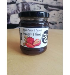 Delicious Crete Strawberry & Ginger jam 250g