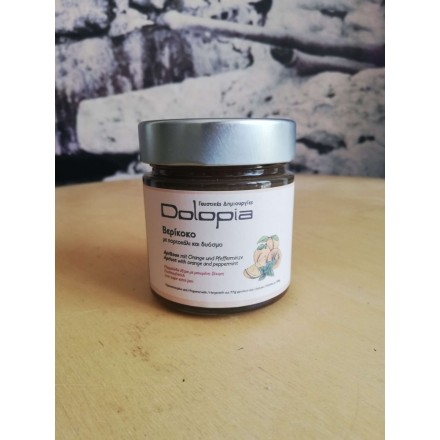 Dolopia Apricot with Orange and Peppermint jam 280g