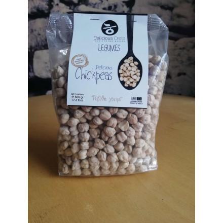 Delicious Crete Legumes - Chickpeas 500g