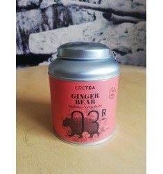 CRETEA Ginger Bear Rooibos Tea with Ginger and Vanilla 100g