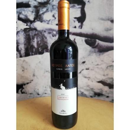 Douloufakis Aspros Lagos 750 ml (Cabernet Sauvignon)