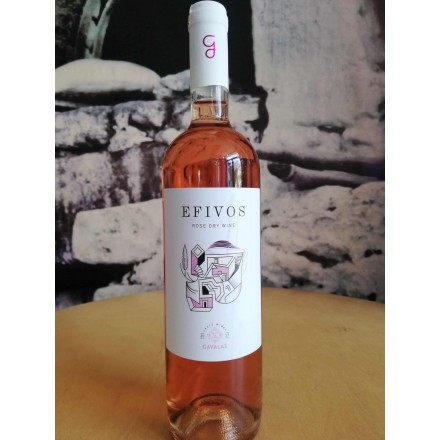 Gavalas Efivos rose 750ml (Kotsifali-Mandilari) organic