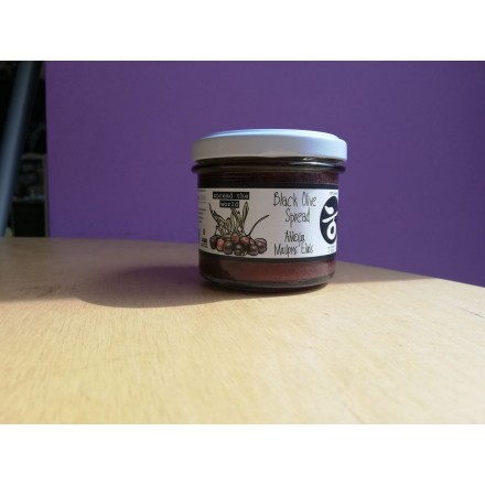 Delicious Crete Black Olive spread 100g