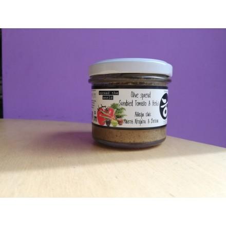 Delicious Crete Olive spread Sundried Tomato & Herbs 100g