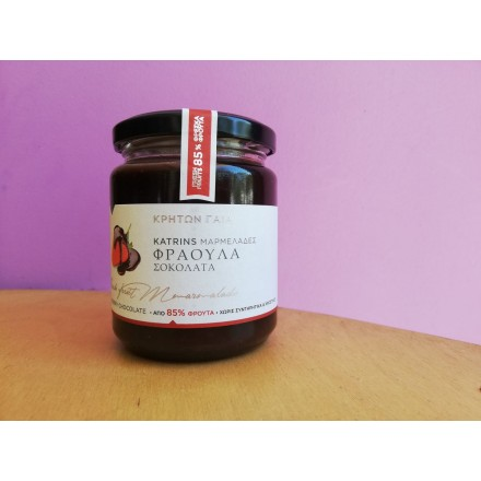 """Katrin's"" 300 g Strawberry and Chocolate Marmalade"